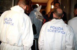 I rilievi nell'appartamento vicino alla stazione di Parma