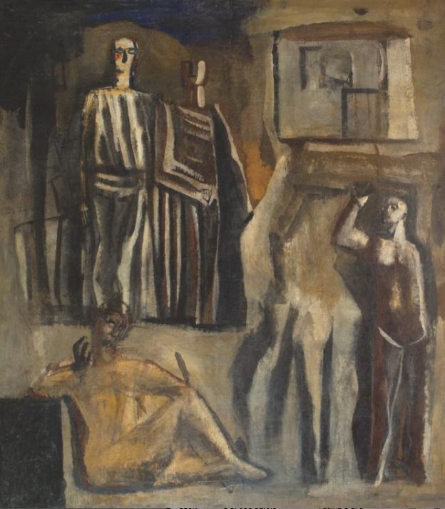 3.Mario Sironi_Il Mito 1936-37