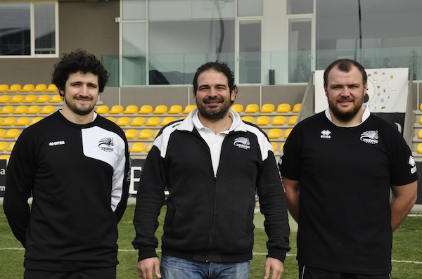 Zebre Rugby: Guarducci - De Rossi - Morelli