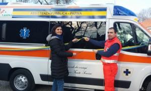 ambulanza eredità Giuliana Mutti_taglio nastro