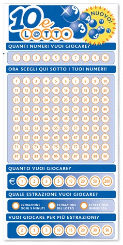 10 e lotto snai